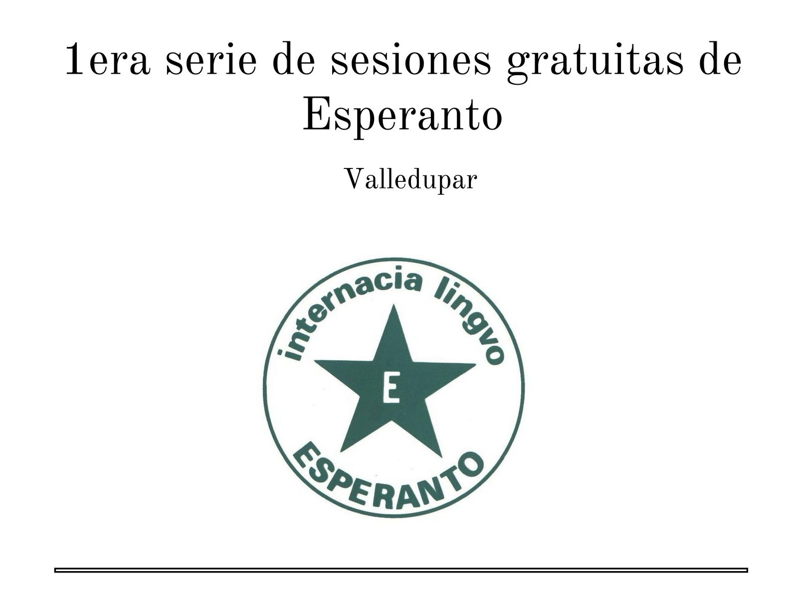 Esperanto en Valledupar 1
