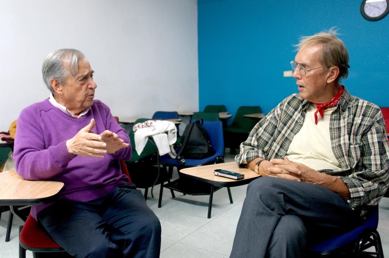 Jen la intervjuo farita de Luis Casas al Luis Jorge Santos-Morales en julio 2017 1
